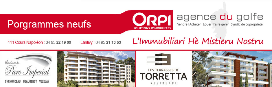 Banniere Agence du Golfe Immobilier